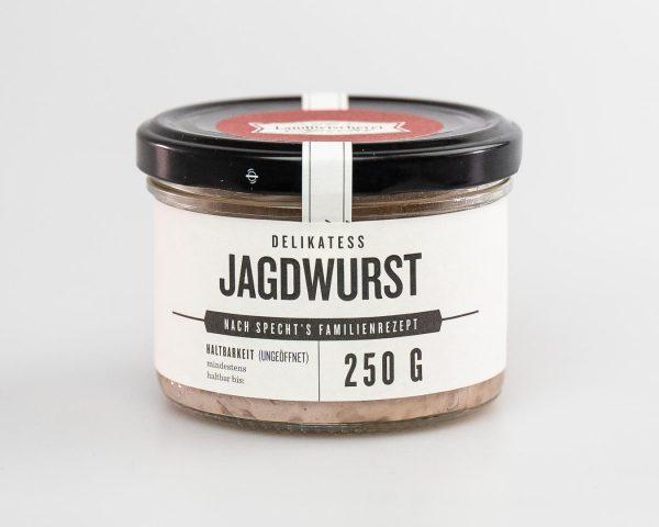Jagdwurst 250g im Glas nach Hausmacher Art
