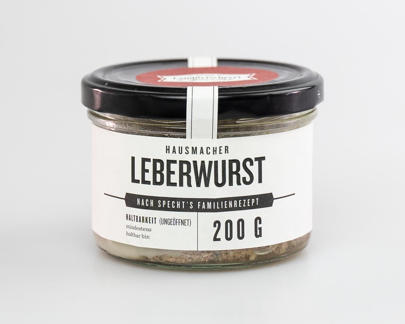 Leberwurst im Glas 250g nach Hausmacher Art