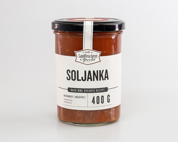 Soljanka im Glas 400g hausgemacht, DDR Rezept, Omas Rezept